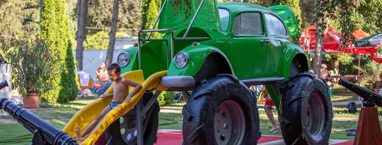 Volkswagen Spray Park (Vizes játszótér)